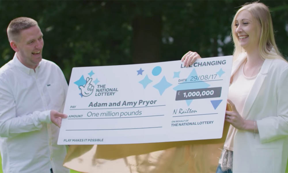 Couple with Seriously ill Baby Win £1million EuroMillions