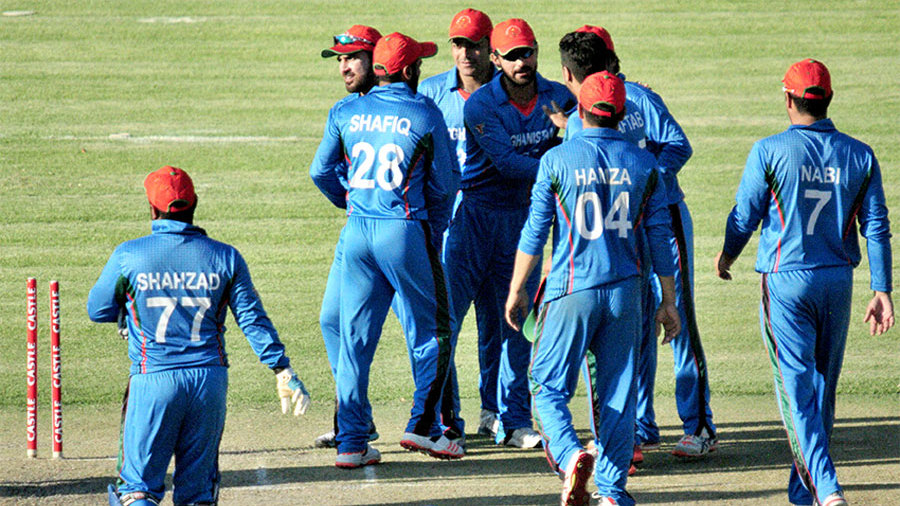 Nabi's century guided Afghanistan in the series-leveling victory