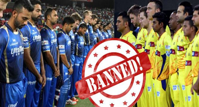 BCCI invites short-term bids to replace CSK, RR