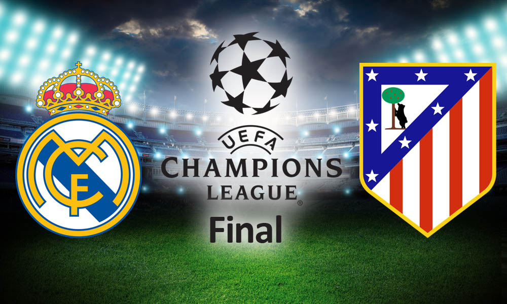 Champions League Final: line-up news Real Madrid and Atletico Madrid