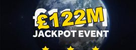 Where can I buy EuroMillions tickets for Tuesday's Superdraw online? £122 Million Jackpot at Stake!