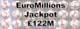 This Tuesday: EuroMillions Superdraw £122 Million Jackpot